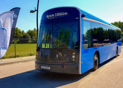 "Dancer bus will compete in ""Aurum 1006 km race"""